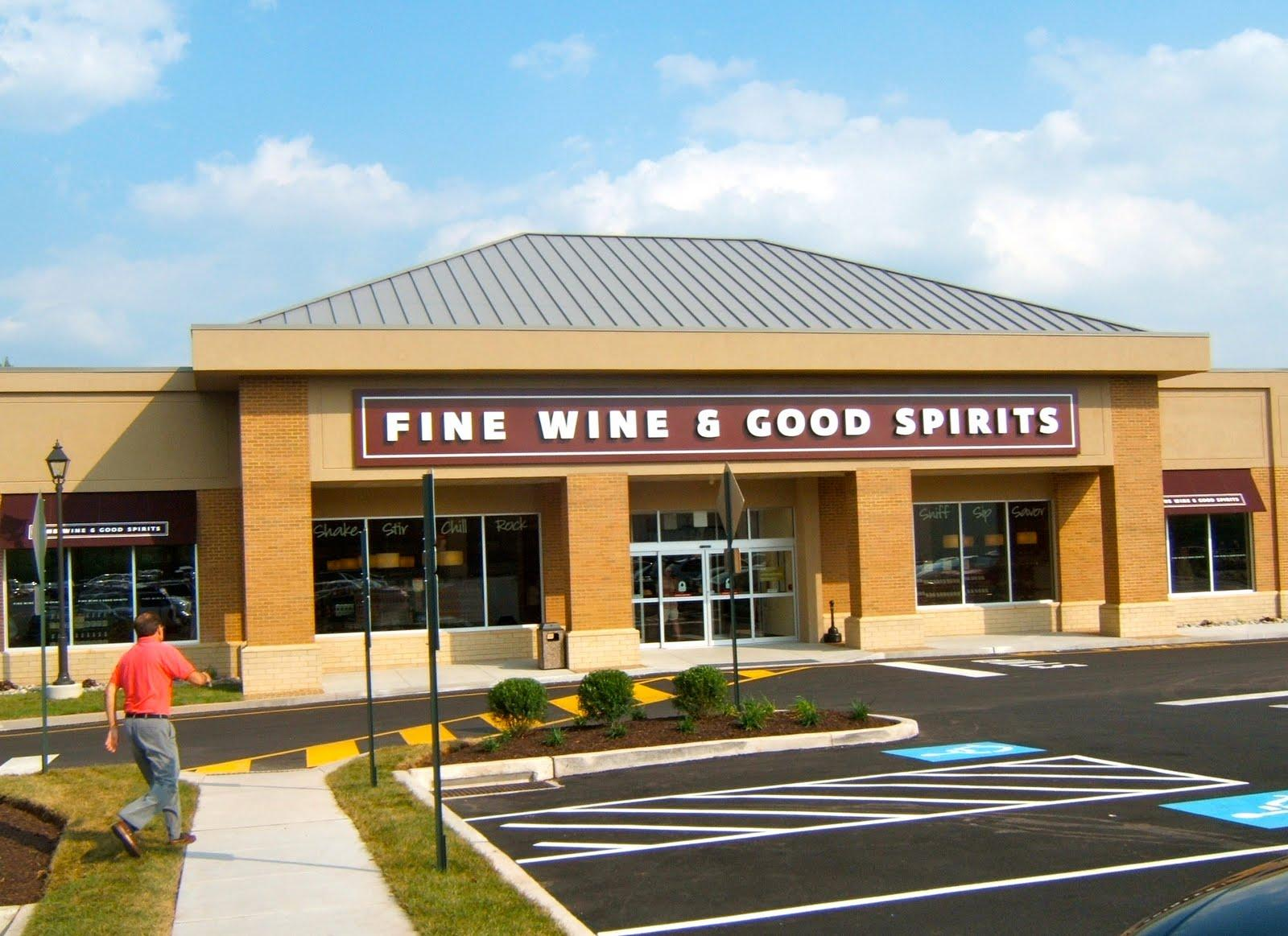 Pennsylvania Fine Wine and Good Spirits Store (Photo by Charlie Sahner)